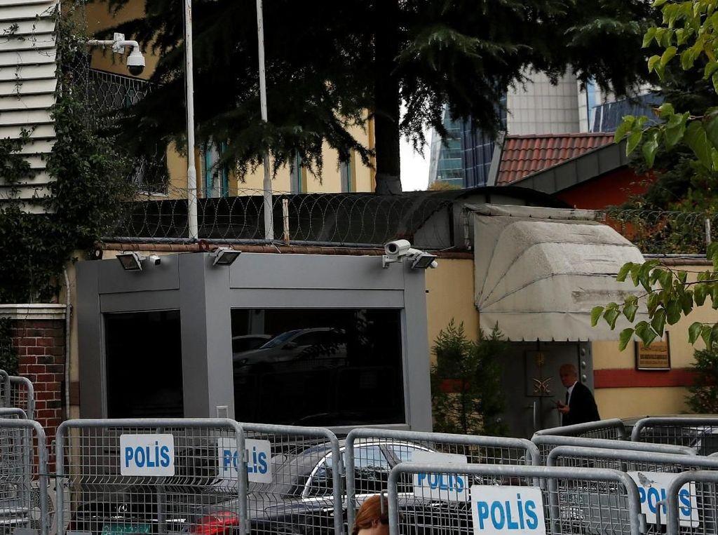 Kasus Khashoggi, Turki Cek Mobil Konsulat Saudi dengan Zat Kimia