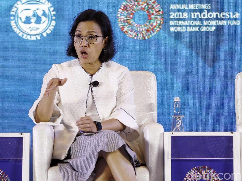 Kata Luhut soal Peluang Sri Mulyani Jadi Bos Bank Dunia