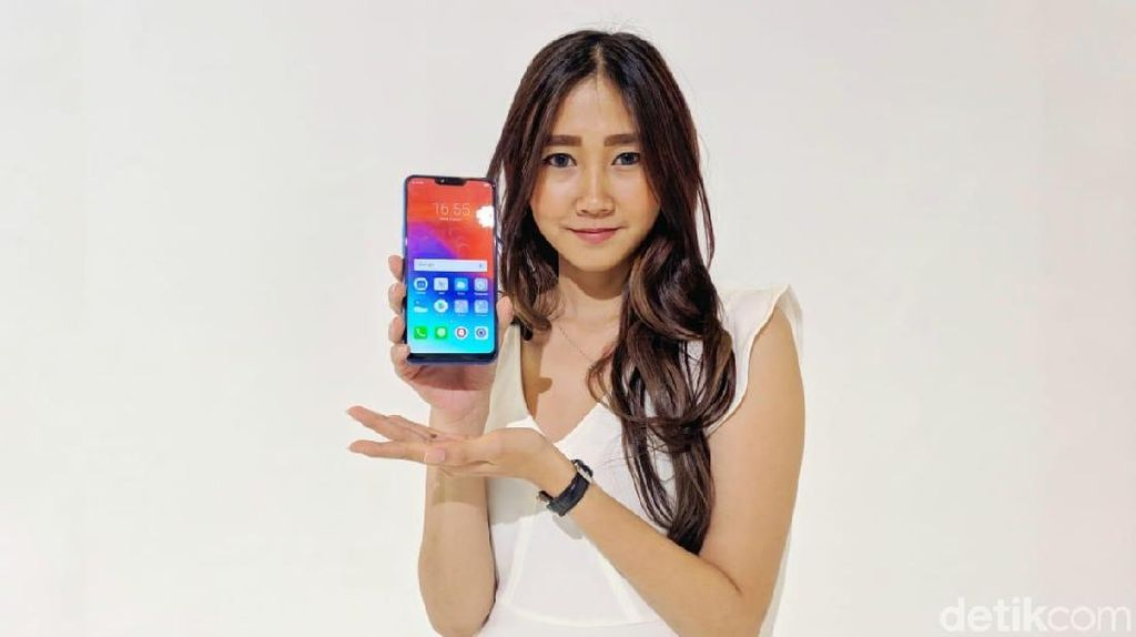 Penampakan Realme C1, Ponsel Stylish Harga Rp 1,5 Juta