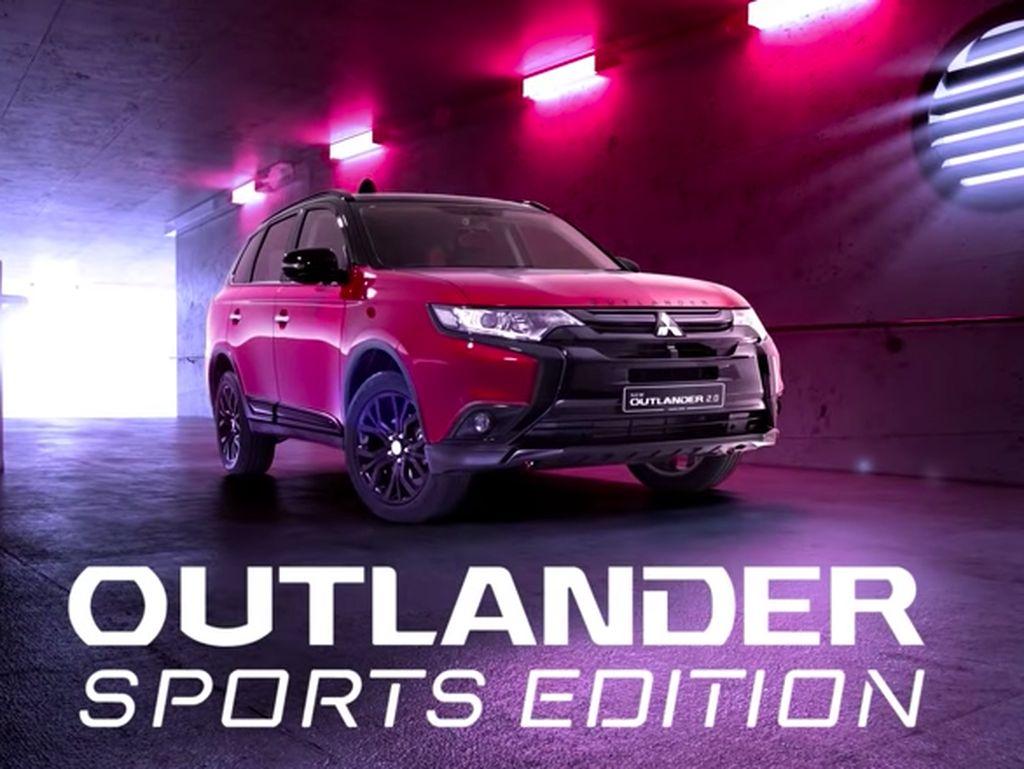 Mitsubishi Kenalkan Outlander Edisi Terbatas