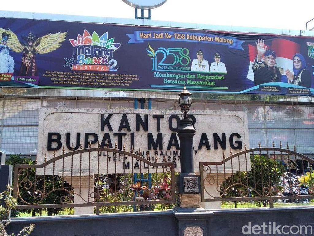 2 Hari, KPK Geledah 8 Kantor Dinas di Pemkab Malang