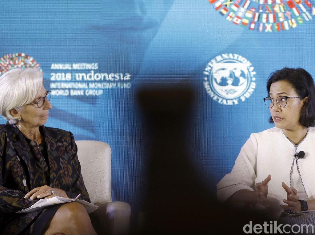Momen Sri Mulyani dan Bos IMF Bahas Peran Perempuan di Ekonomi