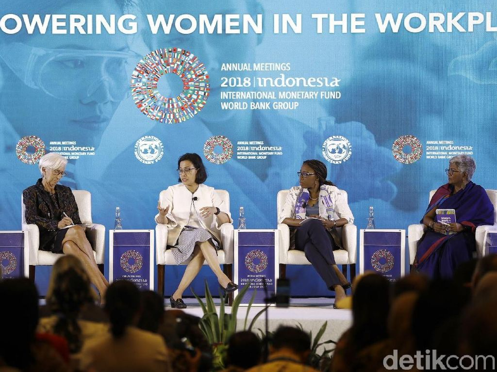 Pentingnya Peran Perempuan di Ekonomi Kata Sri Mulyani dan Bos IMF