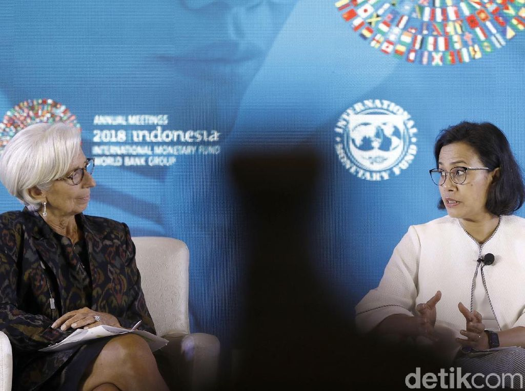 Lagarde Calon Presiden Bank Sentral Eropa, Sri Mulyani: Good Luck
