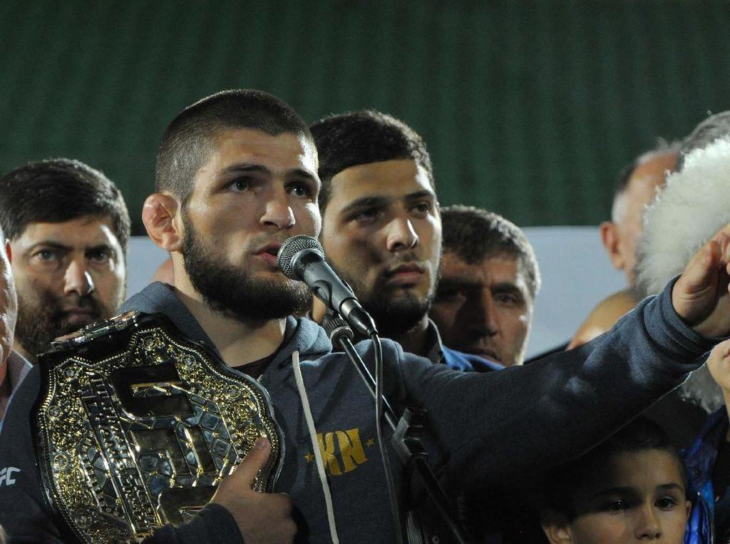 Imbas Ribut dengan McGregor, Khabib Ancam Mundur dari UFC