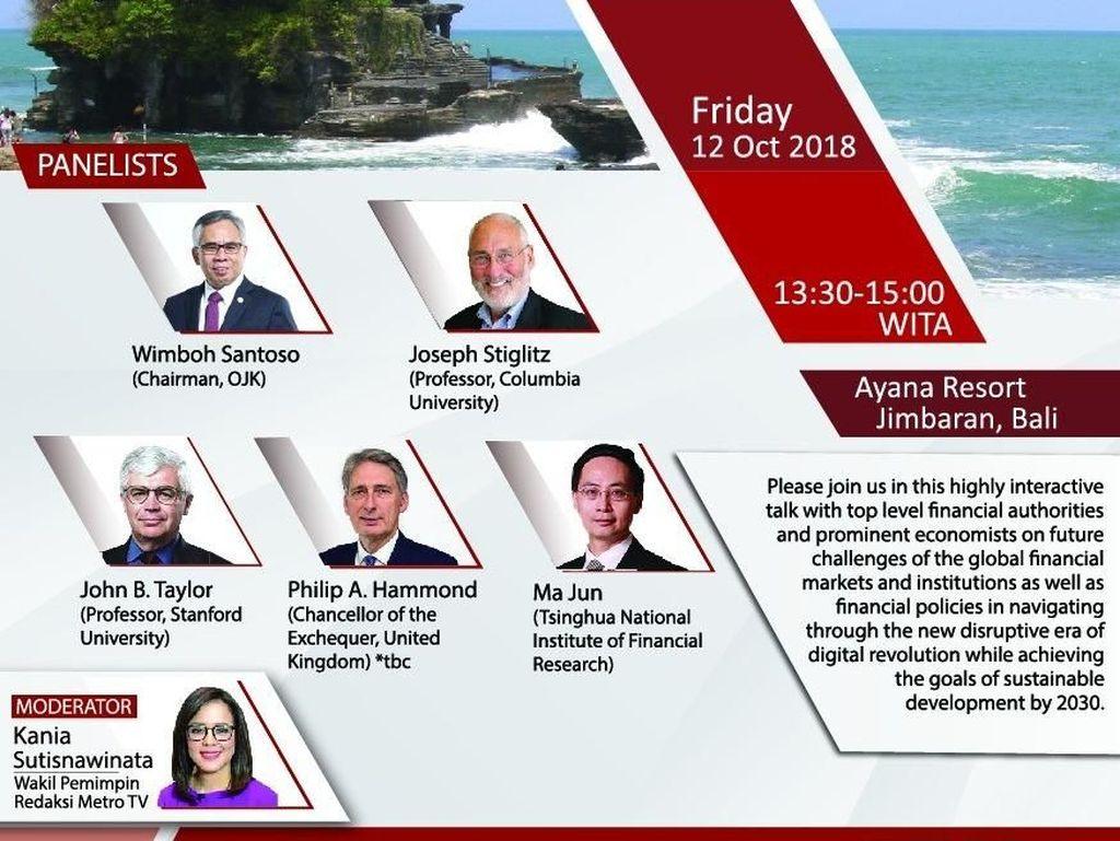 Ini Lima Acara OJK yang Ramaikan Pertemuan IMF-WB 2018