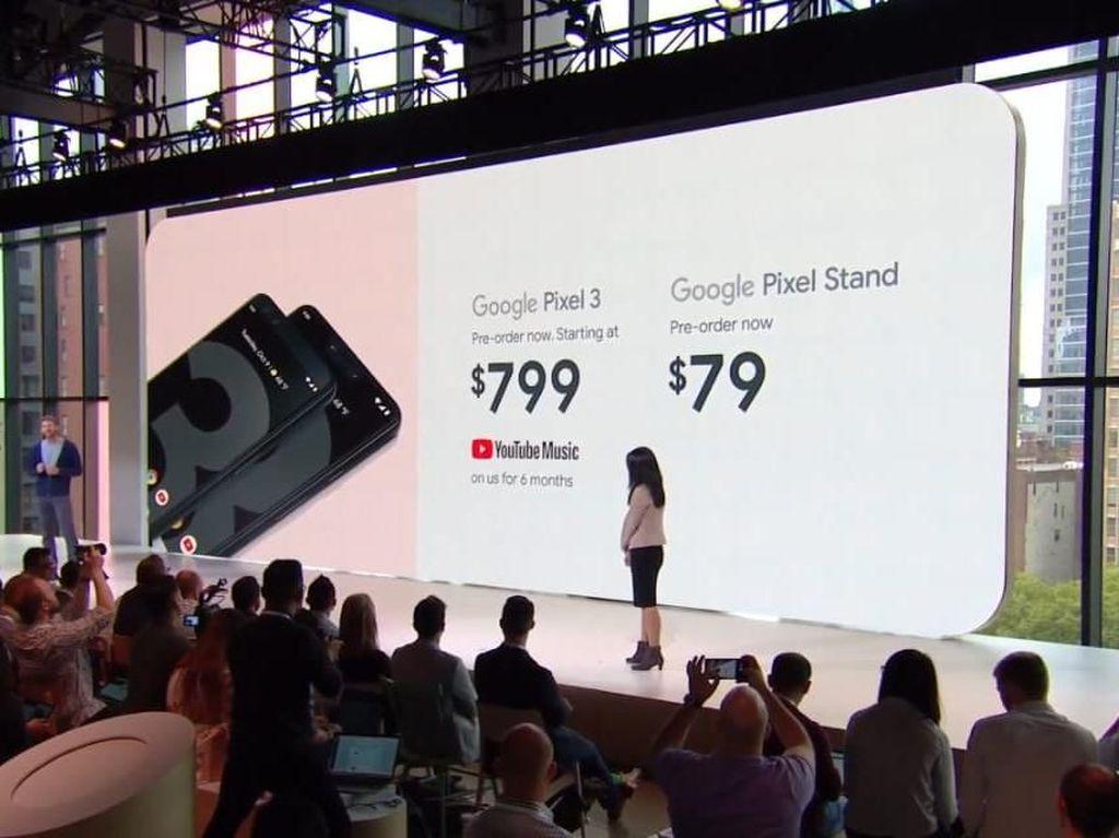 Pixel 3 Dirilis, Harganya Lebih Mahal dari iPhone XR