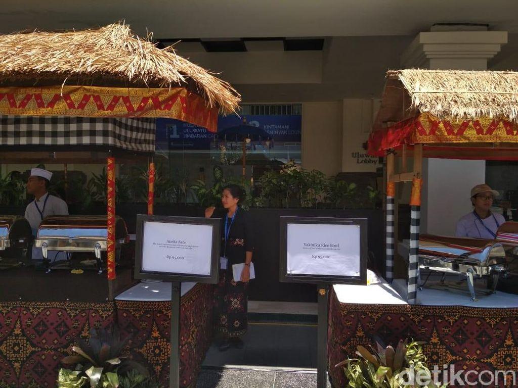 Satai hingga Nasi Padang Mulai Rp 90.000 di Pertemuan IMF-WB