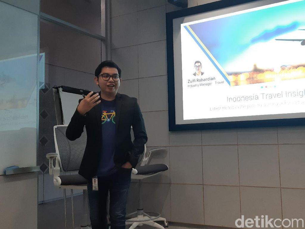 Google Kian Diandalkan Orang Indonesia yang Mau Liburan