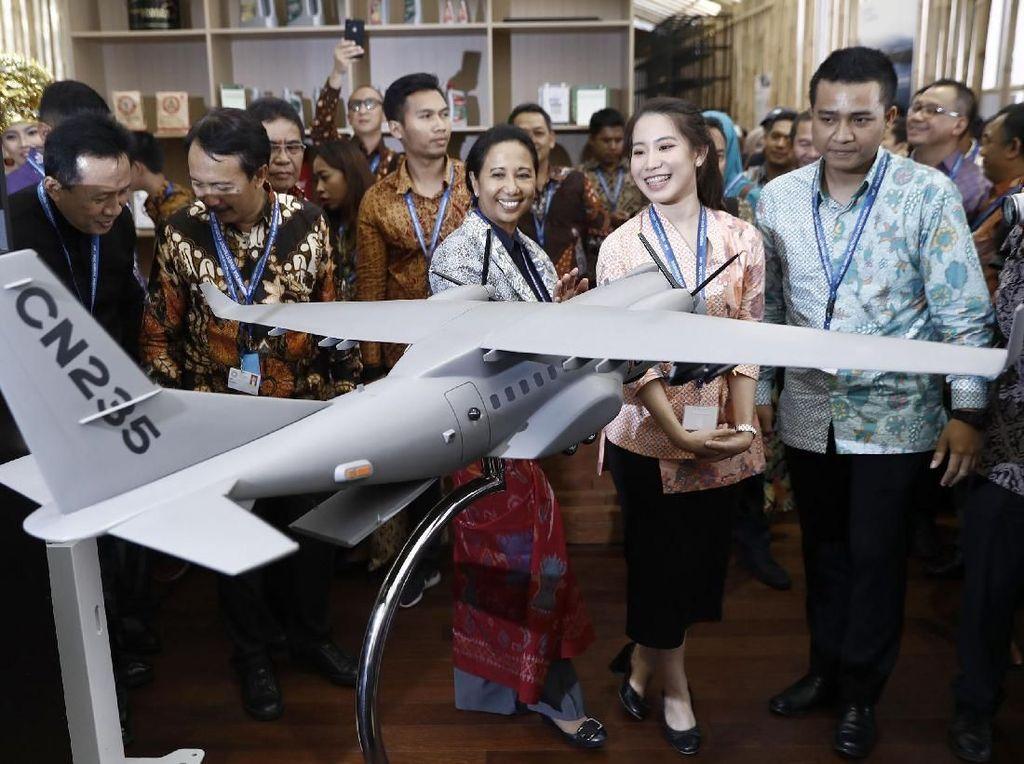 Di Indonesia Pavilion, Rini Bicara Kesepakatan Investasi Rp 200 T
