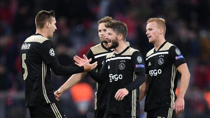 Ajax Amsterdam bisa jadi inspirasi Belanda saat hadapi Jerman (Andreas Gebert/REUTERS)