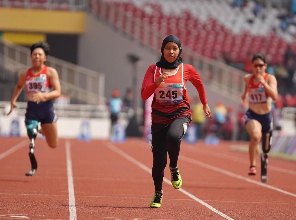 Mengenal Karisma Evi Tiarani, Mahasiswi Ilkom UNS yang Jadi Atlet Paralimpiade Tokyo 2020