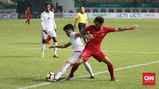 Timnas Indonesia bersiap tampil di Piala AFF 2018.
