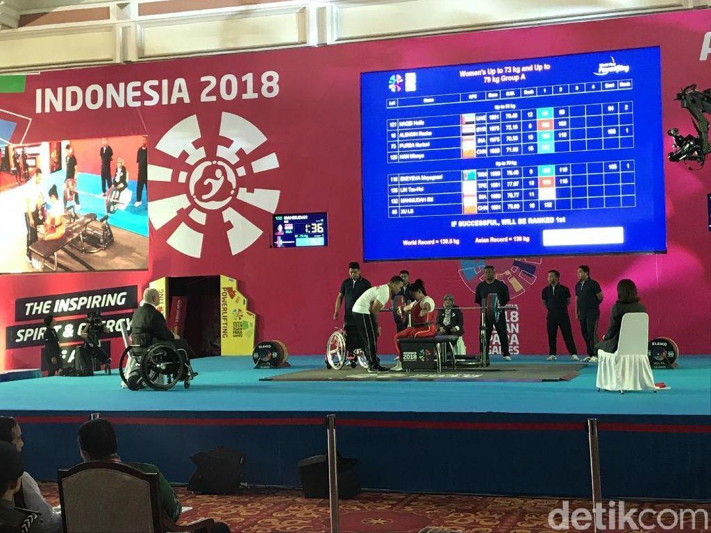 Usai Buka Rakernas LDII, Jokowi Lihat Angkat Besi Asian Para Games
