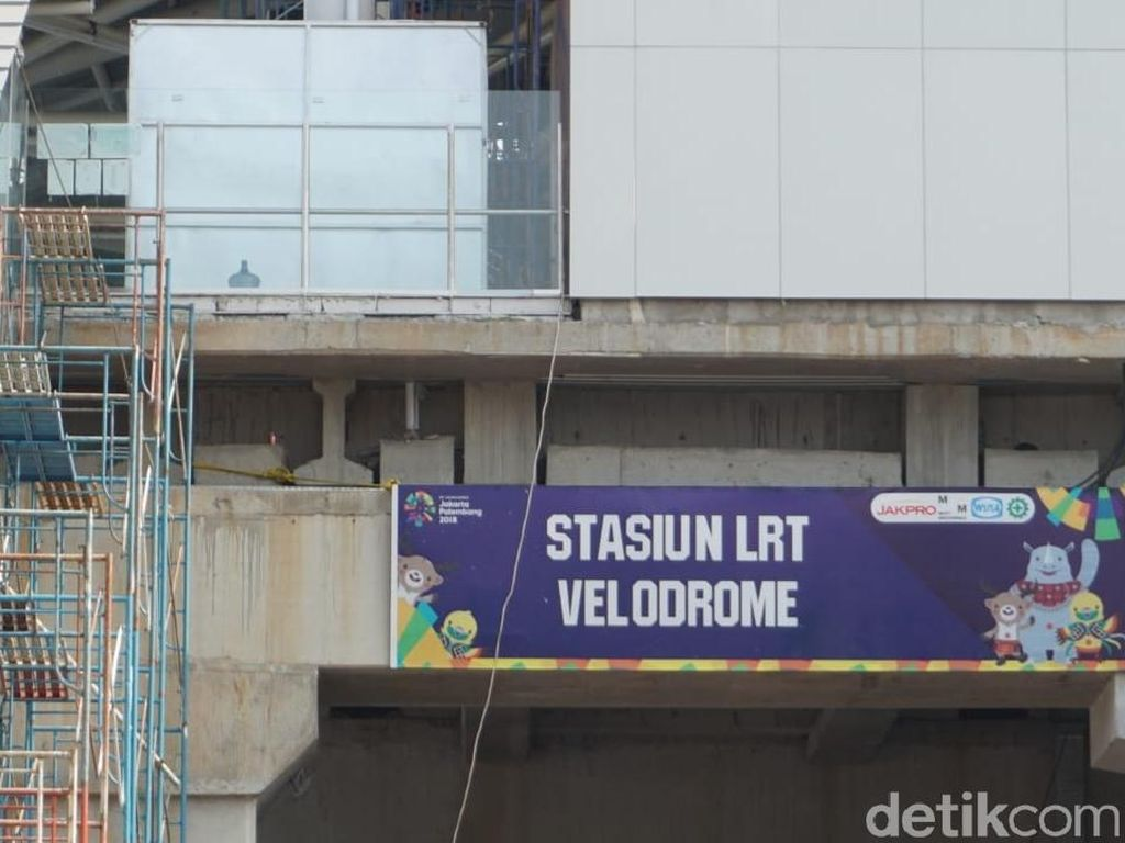 Menengok Kondisi Terkini Proyek LRT Velodrome-Kelapa Gading?