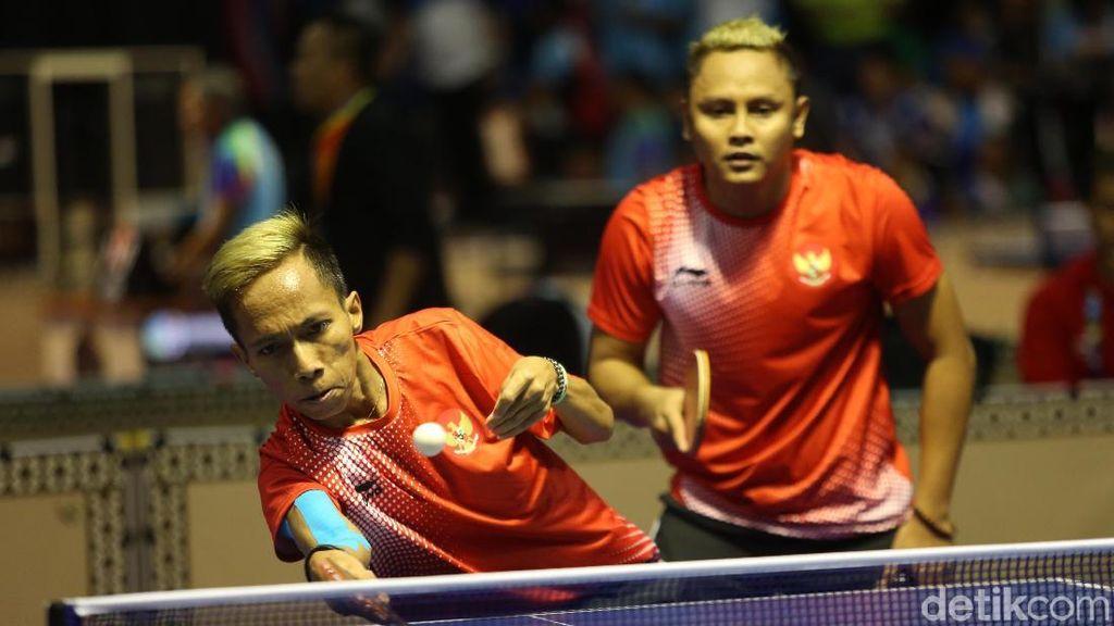 Indonesia Tambah Perak dari Tenis Meja Ganda Putra