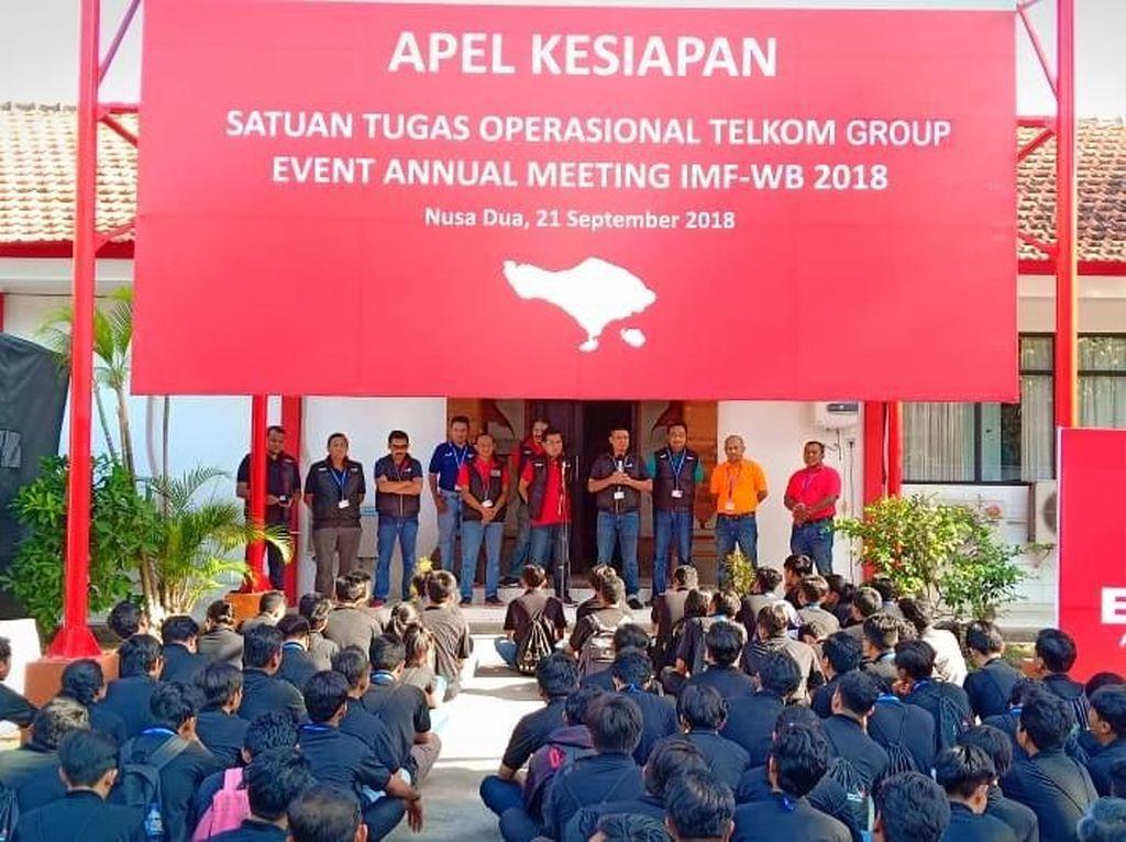 Kencang! Internet buat Tamu IMF-World Bank di Bali Tembus 40 Gbps