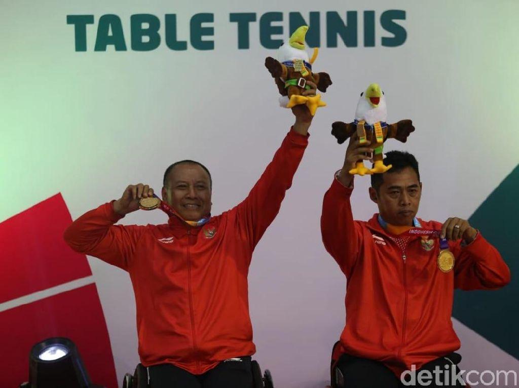 Tenis Meja Tambah 2 Emas Lagi untuk Indonesia