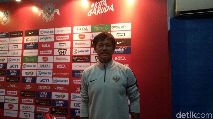 Indra Sjafri menyatakan Timnas U-19 siap menghadapi Piala Asia U-19 (Randy Prasatya/detikSport)