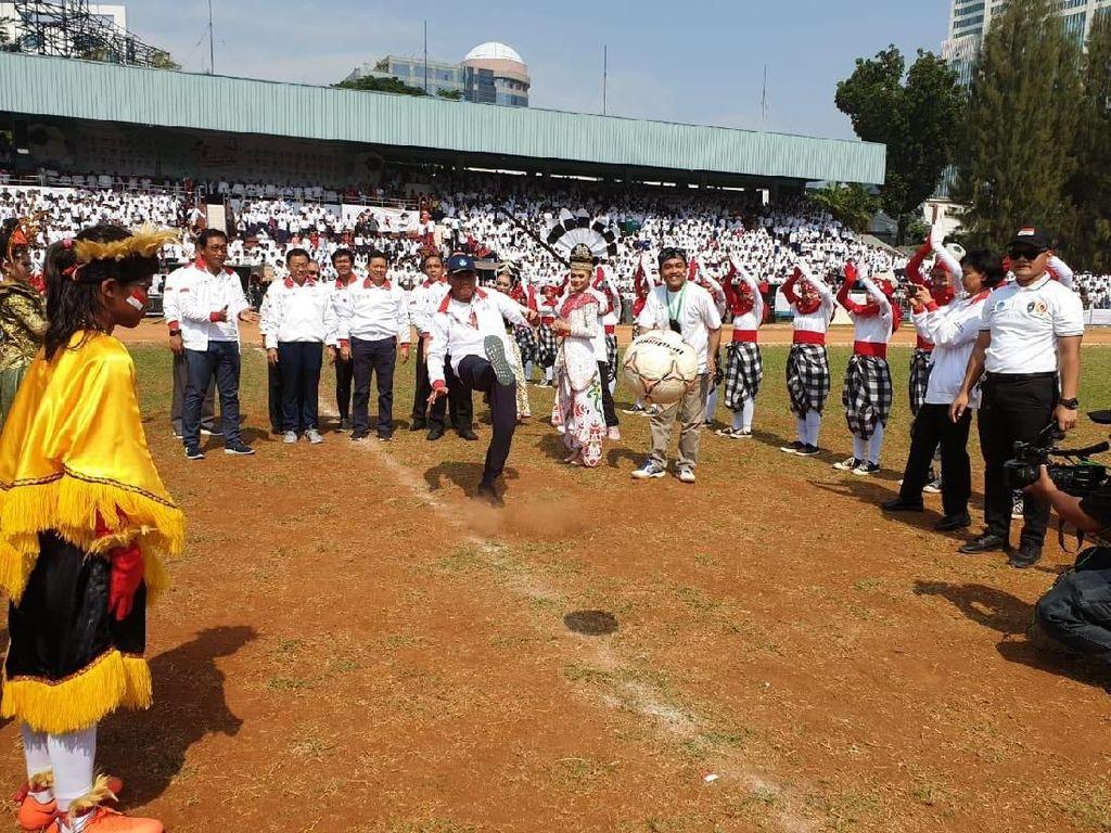 Dorong Kemajuan Sepakbola Indonesia