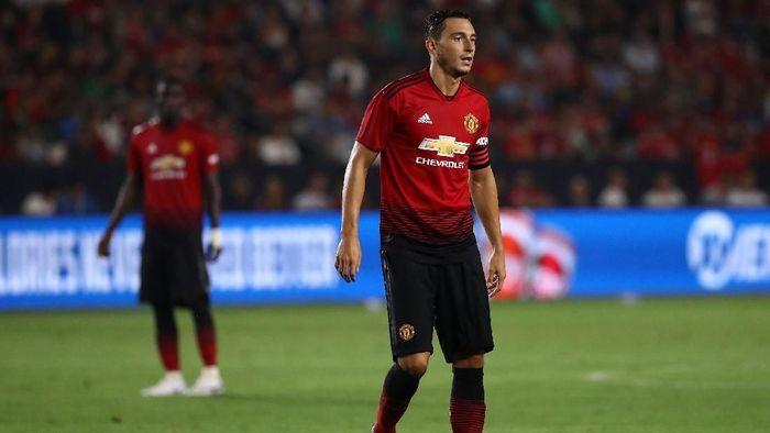 Bek Manchester United, Matteo Darmian. (Foto: Victor Decolongon/Getty Images)