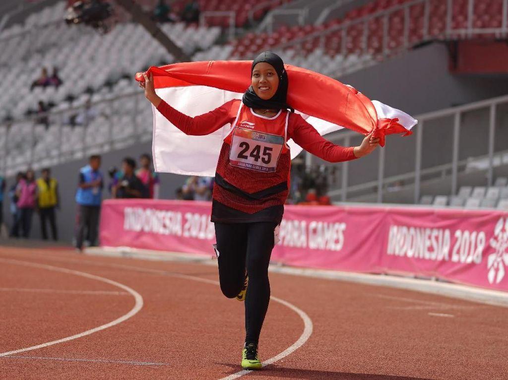 Ini Kunci Kesuksesan Karisma Raih Emas Asian Para Games