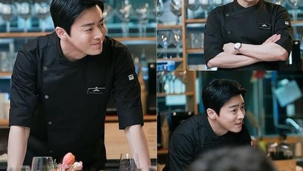Duh, Kepincut Tampannya Jo Jung Suk Saat Pakai Baju Chef!