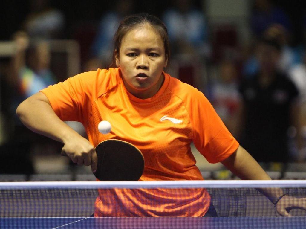 Tenis Meja Raih Emas untuk Indonesia