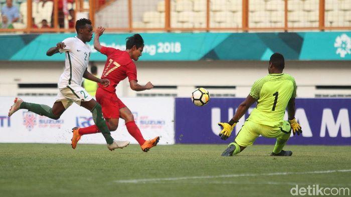 Timnas Indonesia U-19 kalah 1-2 dari Arab Saudi. (Foto: Rifkianto Nugroho/detikSport)