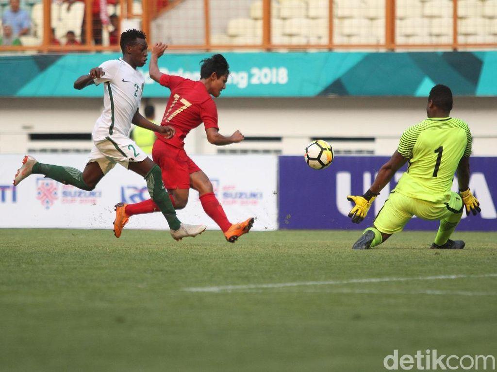 Hasil Indonesia U-19 Vs Arab Saudi: Garuda Muda Kalah 1-2