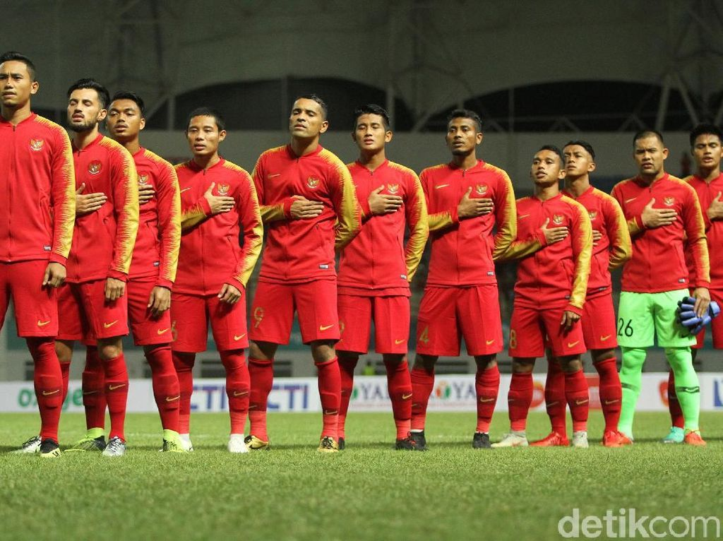 Peringkat FIFA: Indonesia ke-160, Turun Satu Anak Tangga
