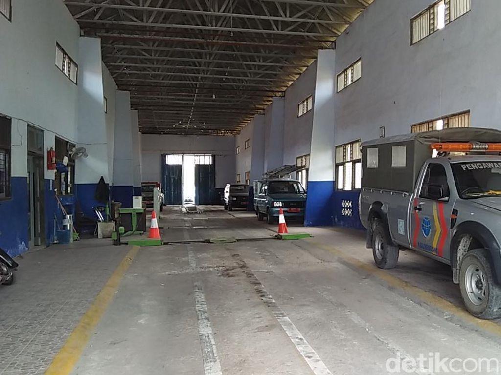 Pasca OTT Pungli, Pelayanan KIR Dishub Rembang Lumpuh