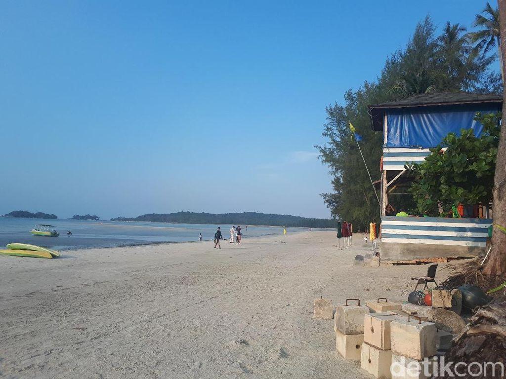 Foto: Pantai Lagoi di Bintan yang Bikin Kangen