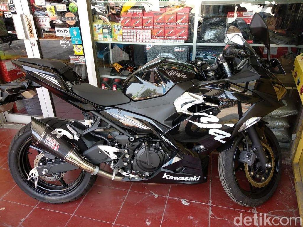 Ini Modifikasi yang Disukai Pengguna Motor Sport 250 cc