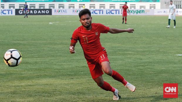 Saddil Ramdani menjadi satu-satunya pemain Timnas Indonesia U-19 yang masuk TC terakhir Piala AFF 2018.