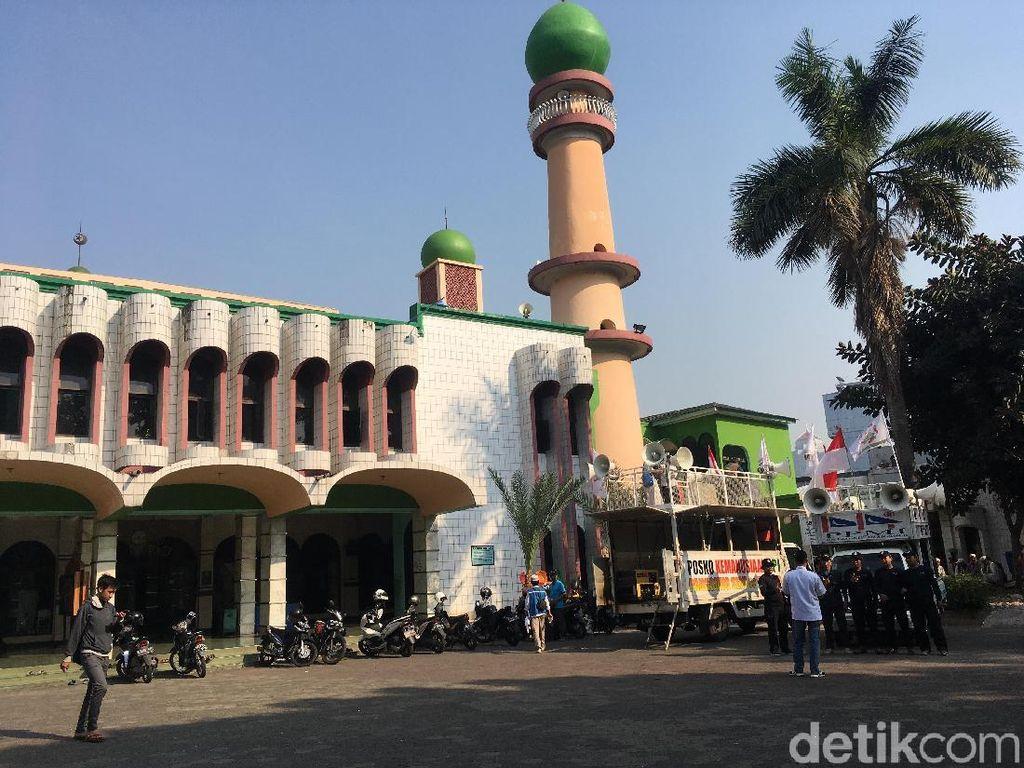 Begini Situasi Masjid Al-Munawwar Jelang Aksi Kawal Amien Rais