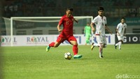 Babak pertama ditutup dengan skor 3-0 untuk Indonesia.