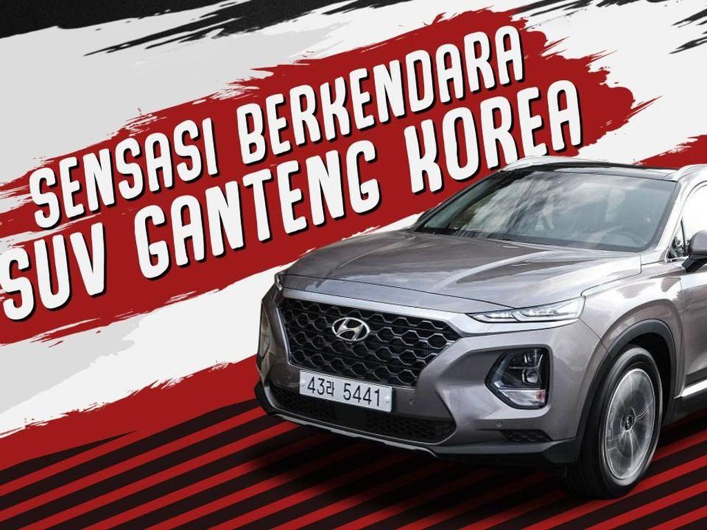 Review Hyundai Santa Fe: Sensasi SUV Ganteng Korea