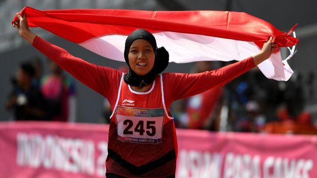 Atlet-atlet Indonesia berhasil meraih prestasi terbaik di ajang Asian Para Games 2018.
