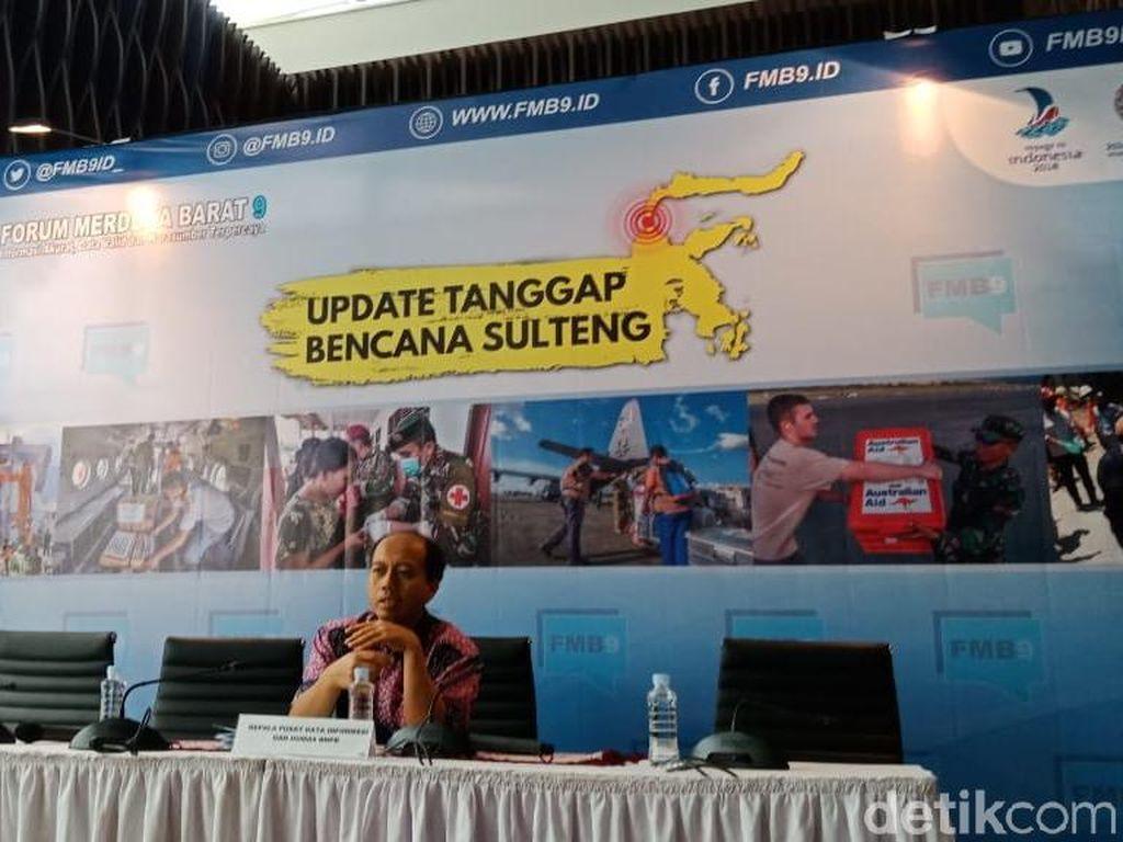 BNPB: Rekonstruksi dan Rehabilitasi di Sulteng Mulai Awal November