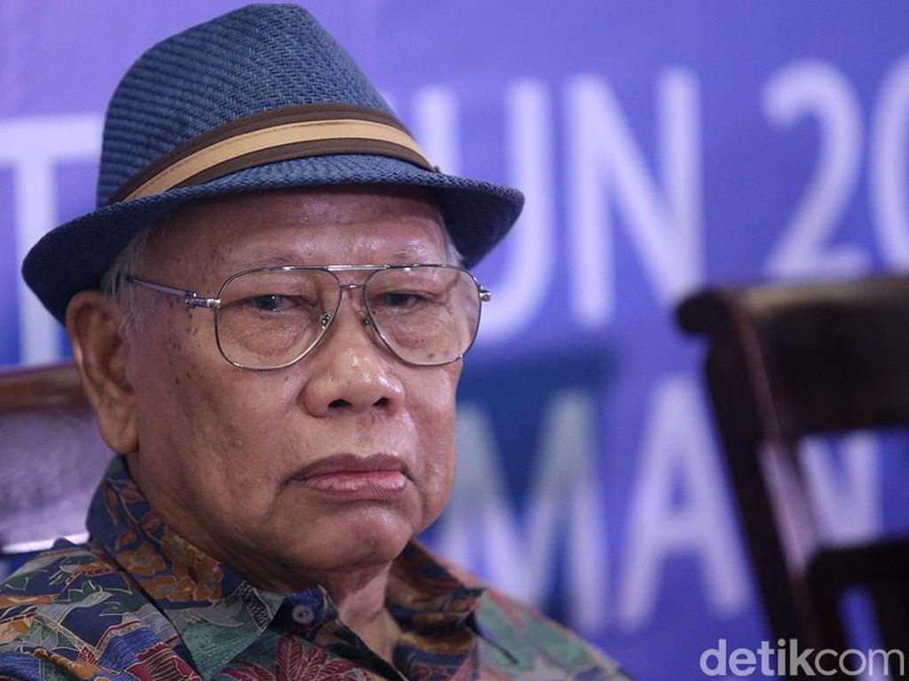 UU KPK Mau Digugat ke MK, Bagir Manan: Harus Buktikan Bertentangan dengan UUD