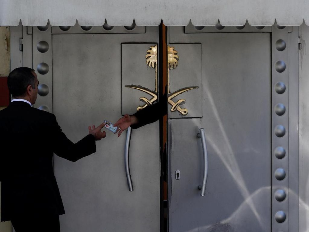 Cerita Mengerikan Setelah 7 Menit Khashoggi Masuk Konsulat Saudi