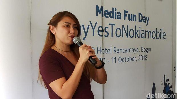 Miranda Vania Warokka, Head of Marketing HMD Indonesia