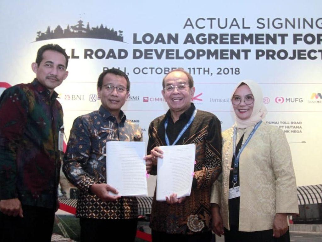 BNI Ikut Biayai Tol Trans Sumatera Terbangi Besar-Kayu Agung