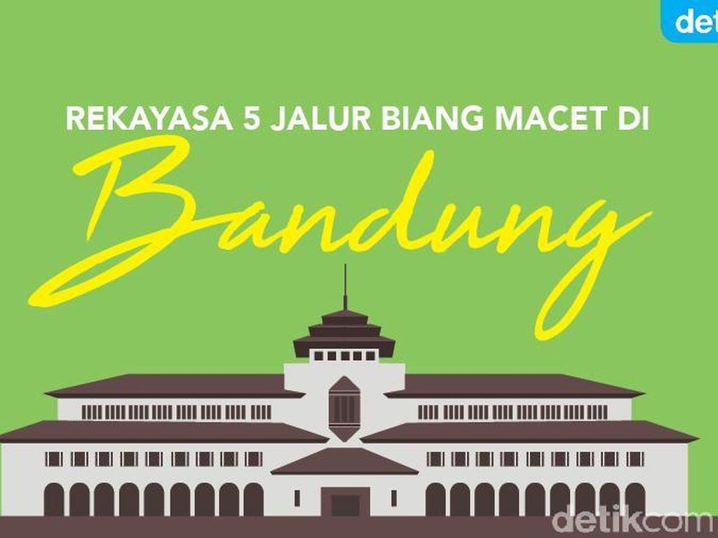 Ini Rekayasa 5 Jalur Biang Macet di Bandung