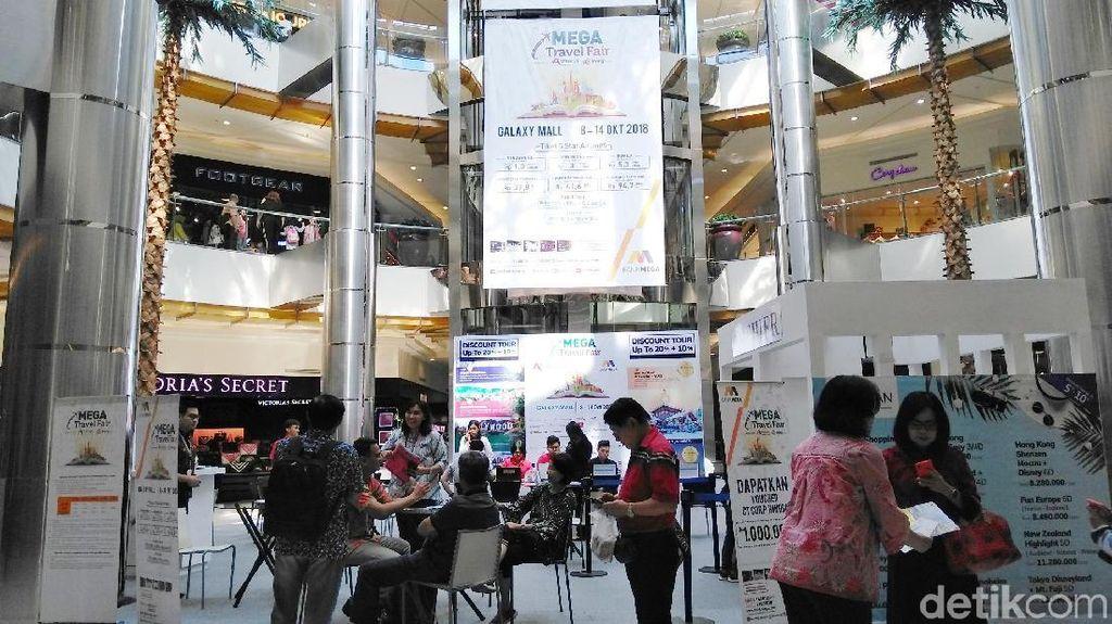 Mega Travel Fair Hadir di Surabaya, Banyak Promo Tur & Tiket Pesawat