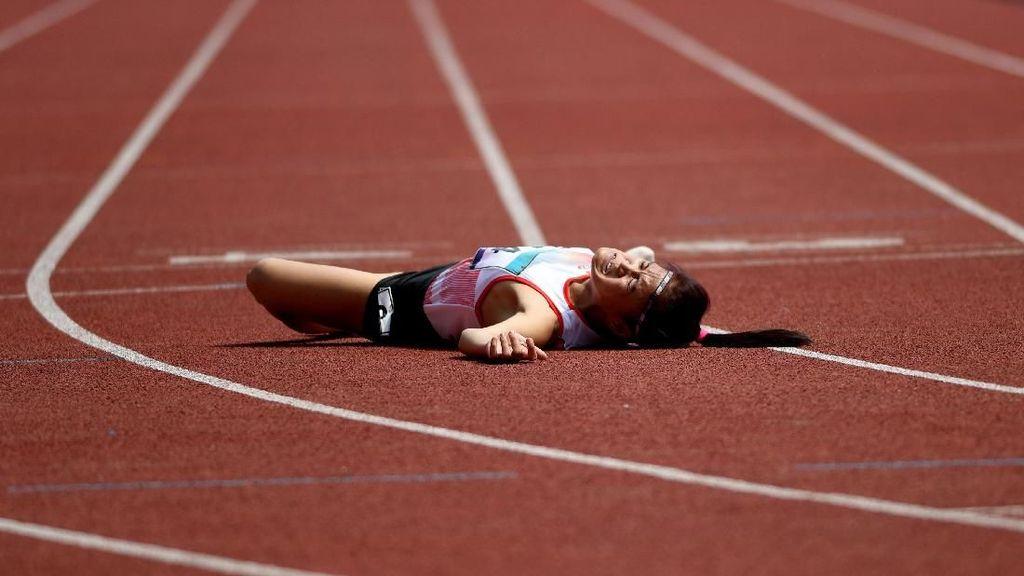 Sprinter Ini Terjungkal di GBK dan Dirawat di RS: Aku Malu Enggak Kasih Medali