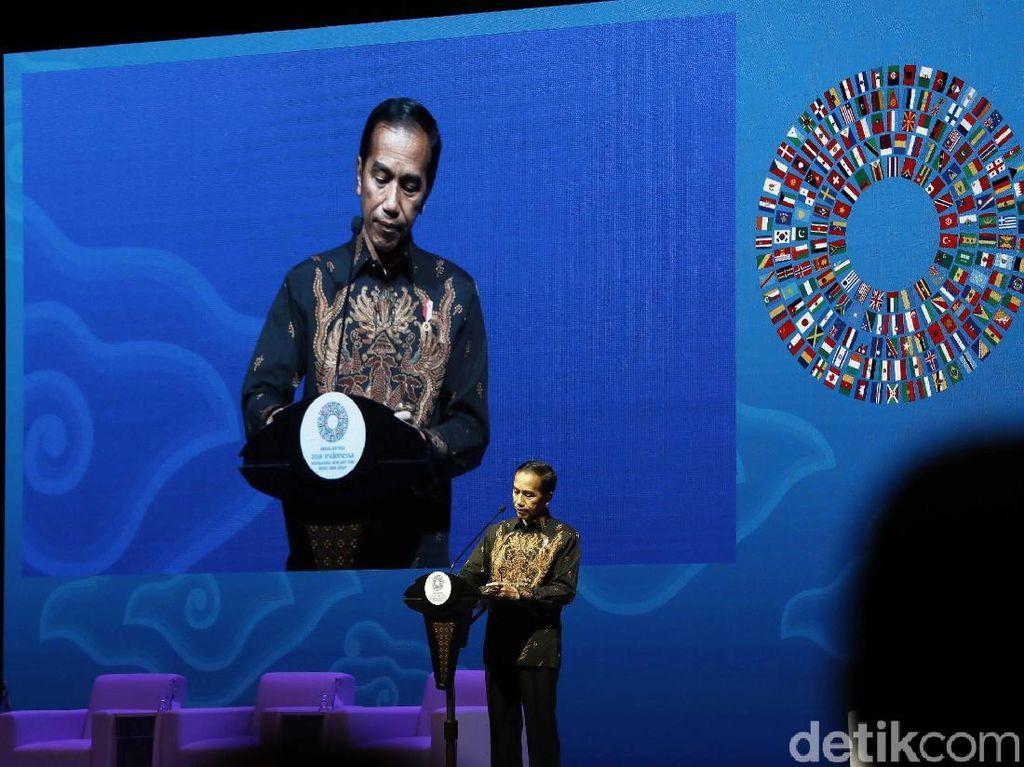 Saat Bos IMF dan World Bank Terpukau dengan Pidato Jokowi