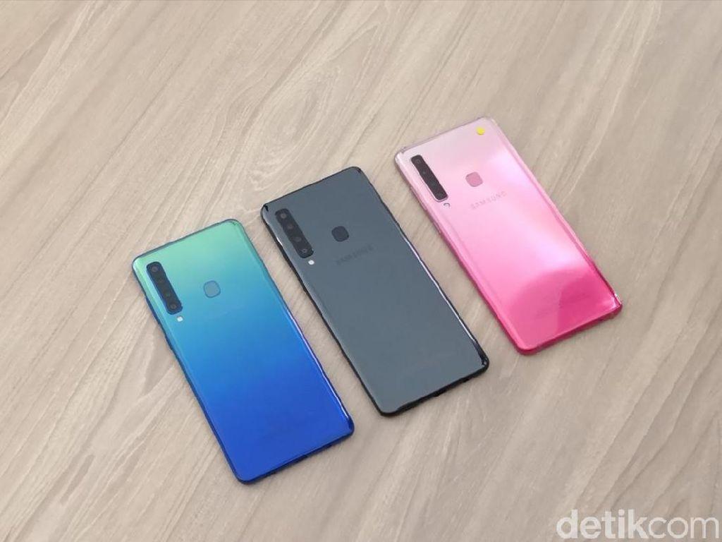 Kapan Ponsel 4 Kamera Belakang Samsung Masuk Indonesia?