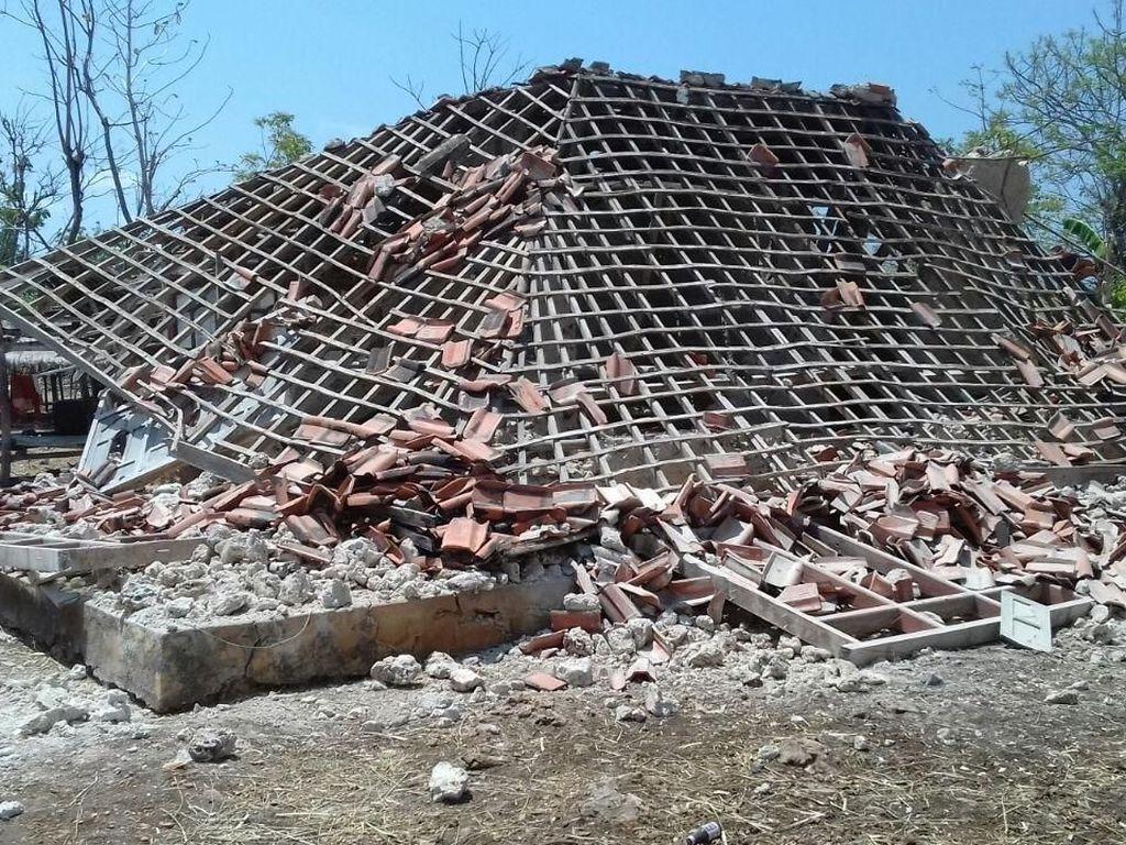 BPBD Jatim: Sementara Ada 288 Rumah Rusak akibat Gempa Situbondo